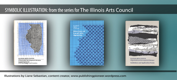 The Illinois Arts Council illustration